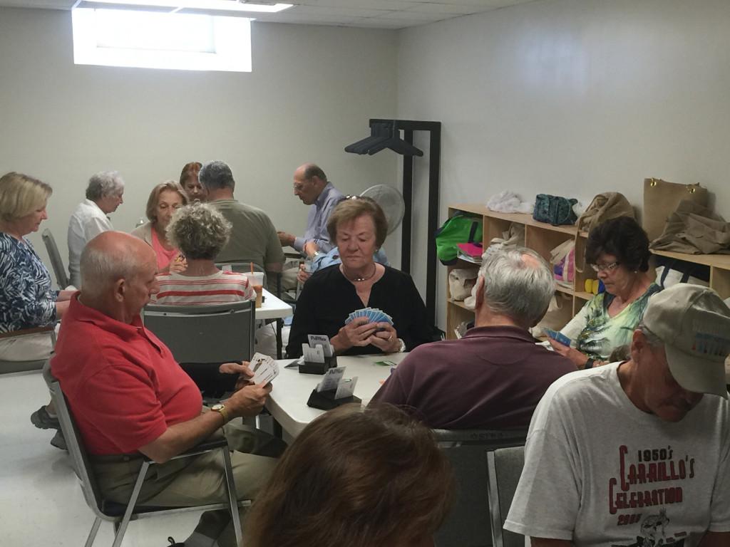 TSH members play duplicate bridge each Friday at the Westport Senior Center.